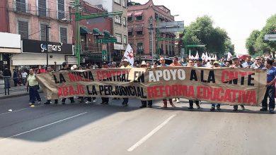 marcha CNTE-NCT