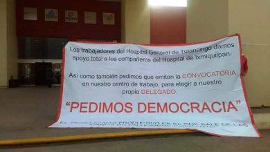 Photo of Crece inconformidad de trabajadores de la salud en Hidalgo