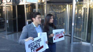 Photo of Senadores de Movimiento Ciudadano denuncian a Carlos Romero Deschamps